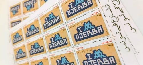 La poste Tunisienne émet des timbres dessinés par le street-artiste...