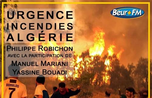 Incendies en Algérie : la mobilisation continue