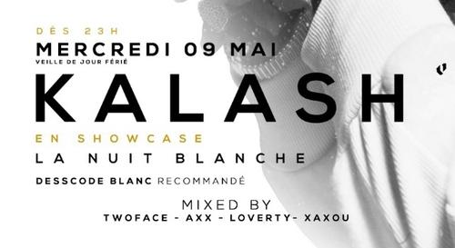 A GAGNER : Kalash en showcase à l'Entrepà´t Club Bordeaux !