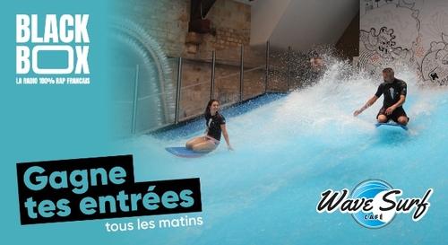 Gagne tes 4 entrées au Wave Surf Café