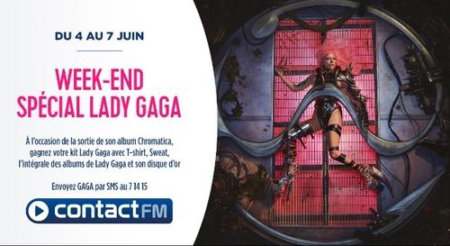 GAGNEZ VOTRE KIT LADY GAGA SUR CONTACT FM !