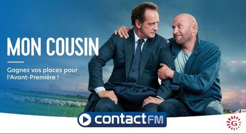 """GAGNEZ VOS PLACES DE CINÉMA POUR LE FILM """"MON COUSIN ! """" AU Gaumont..."""