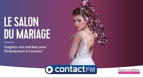 GAGNEZ VOS ENTRÉES POUR LE SALON DU MARIAGE DE LOMME !