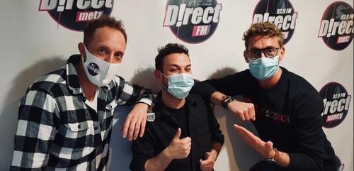 Angelo crée la surprise dans  le Wake up de Direct FM