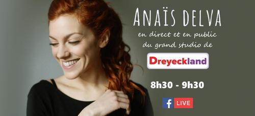 ÉVÉNEMENT   Revivez l'interview d'Anaïs Delva !