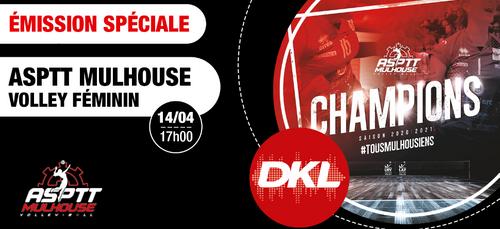 "Emission spéciale ""ASPTT Mulhouse Volley"" mercredi à 17H"