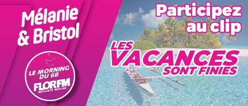 """Participez au clip de la parodie """"Les Vacances sont finies"""""""