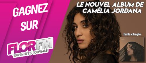 GAGNEZ LE NOUVEL ALBUM DE CAMELIA JORDANA