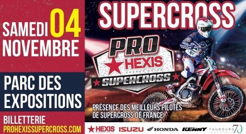 La Bonne Année : Gagnez vos places pour le Pro Hexis Supercross !