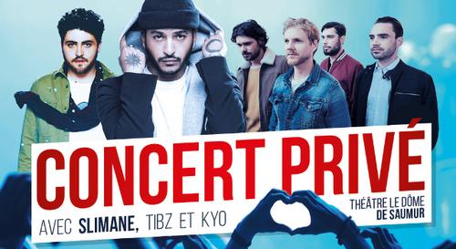 La Bonne Année : Concert Privé Forum avec Slimane,Tibzet Kyo !