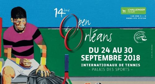 Gagnez vos places pour le 14à¨me Open d'Orléans de Tennis