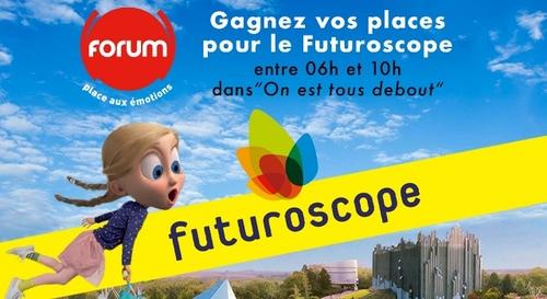 Gagnez vos 4 entrées pour le Futuroscope !