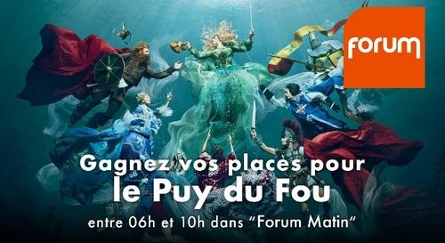 Gagnez vos 4 entrées au Puy du Fou !