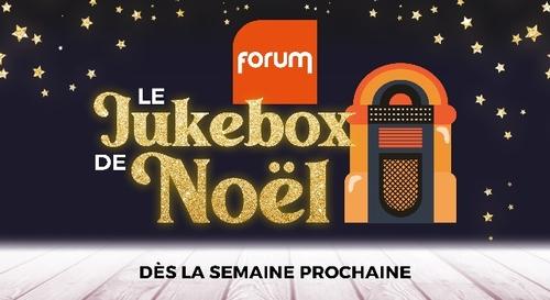 Jouez au Jukebox de Noà«l Forum et gagnez de magnifiques cadeaux !