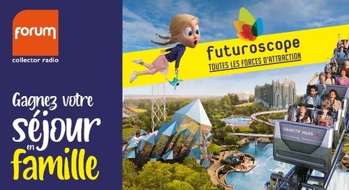 Gagnez votre séjour familial au Futuroscope