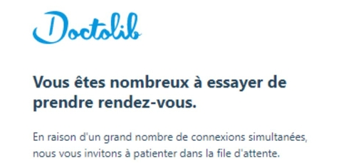 Doctolib : après les annonces d'Emmanuel Macron, le site saturé