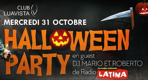 A GAGNER : Votre table VIP pour la Halloween Party à la Lua Vista !