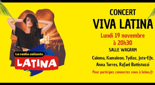 Exceptionnel : gagnez vos quatre places pour le concert Viva Latina !