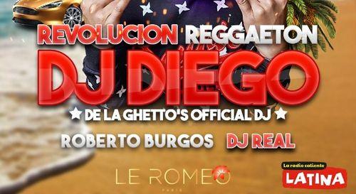 A GAGNER : Votre table VIP pour la Revolucion Reggaeton au Romeo...