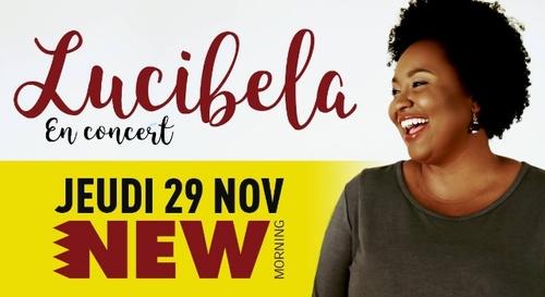 A GAGNER : Lucibela en concert au New Morning !