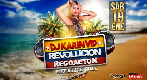 Gagnez votre table VIP pour la soirée Revolucion Reggaeton au Romeo...