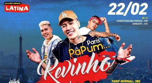 Gagnez vos places pour le concert de Kevinho à Paris !