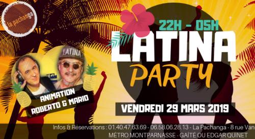 Gagnez votre table VIP pour la Latina Party à la Pachanga !