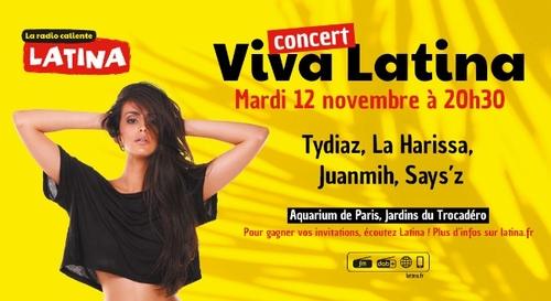 Gagnez vos places pour le nouveau concert Viva Latina !
