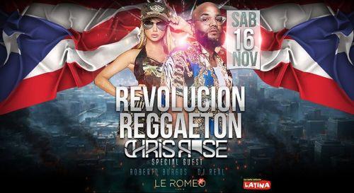 Gagnez votre table VIP pour la Revolucion Reggaeton au Romeo Club !