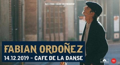 Gagnez vos places pour le concert de Fabian Ordoà±ez à Paris !