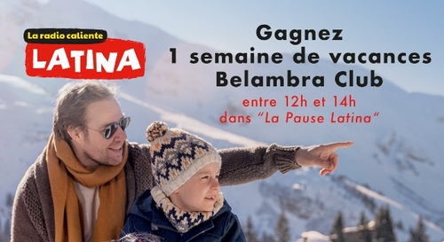 Gagnez votre séjour pour 4 personnes en Club Belambra !