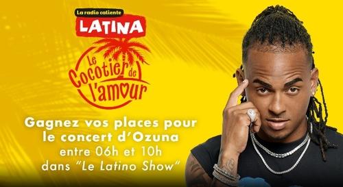 Gagnez vos places pour le concert d'Ozuna à l'AccorHotels Arena !