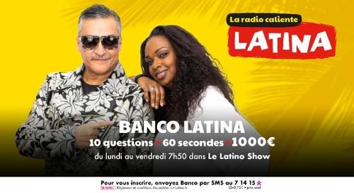 Banco Latina : gagnez 1000€ à 7h50 sur Latina