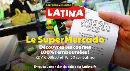 SuperMercado : Latina vous rembourse vos courses !