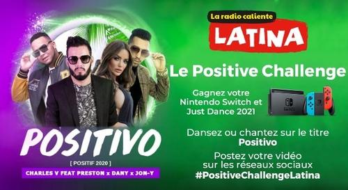 #PositiveChallengeLatina : gagnez votre Nintendo Switch