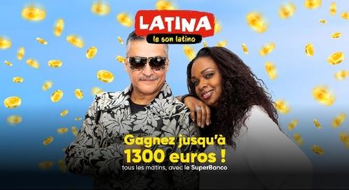 SuperBanco Latina : gagnez jusqu'à 1300€ dans le Latino Show