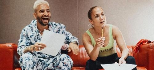 """""""Nous enregistrons une bombe"""" : Maluma et Jennifer Lopez annoncent..."""