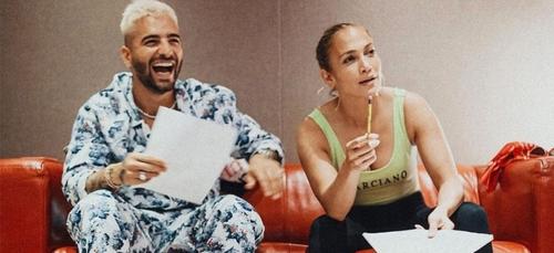 Jennifer Lopez tease son grand retour musical avec Maluma (vidéo)