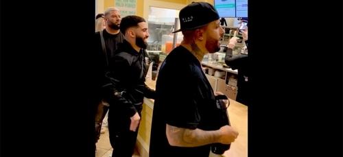 Quand Nicky Jam surprend les employés d'un restaurant en leur...
