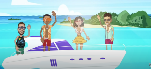 Maluma et Reykon dévoilent un remix du hit «Latina» avec Tyga et...