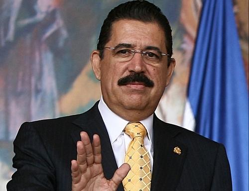 Un ex-président hondurien interpellé