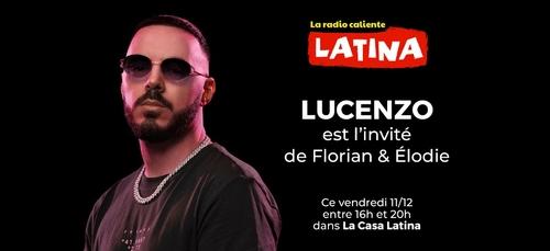 """Lucenzo dévoile son nouveau single """"Bailamos"""" ce vendredi sur Latina"""