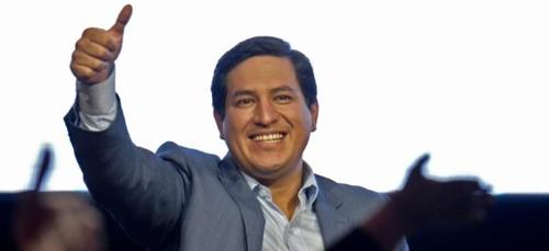 Présidentielle en Equateur : le socialiste Andres Arauz en tête du...