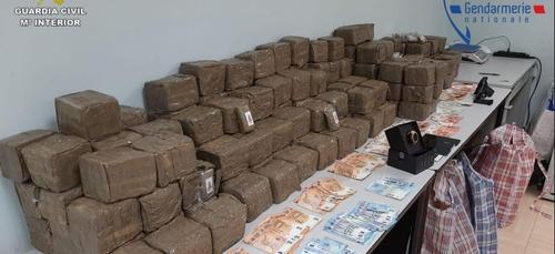 Un réseau de trafic de drogue franco-espagnol démantelé