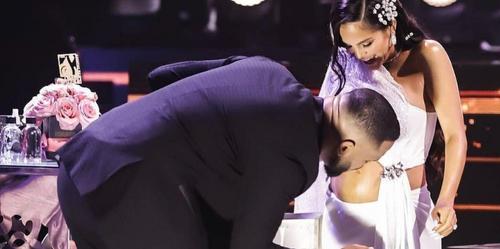 Natti Natasha annonce sa grossesse à la cérémonie Premio lo Nuestro...
