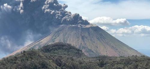 Le volcan San Cristobal est entré en éruption au Nicaragua