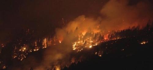 La Patagonie à nouveau en proie aux flammes (vidéo)