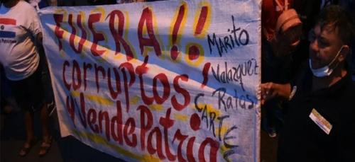 Paraguay : les manifestations anti-gouvernement se multiplient
