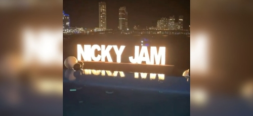 Nicky Jam organise une fête pour ses 40 ans, J Balvin lui offre un...
