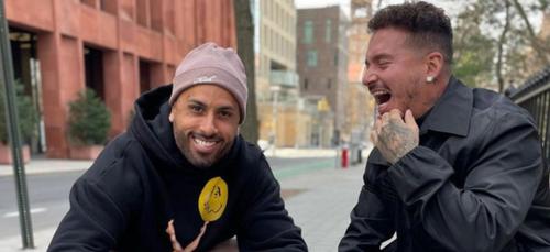 Quand Nicky Jam et J Balvin partent en plein fou rire dans les rues...